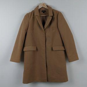 Topshop Camel Coat Size 4